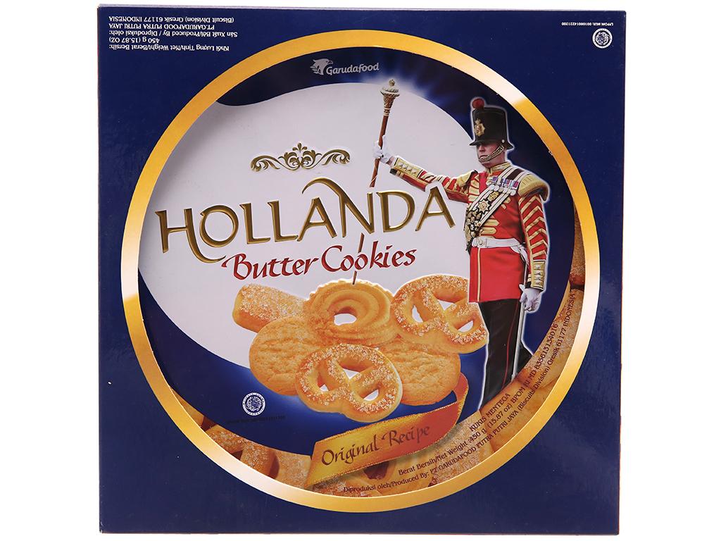 Bánh quy ngọt GarudaFood Hollanda bơ 450g 2