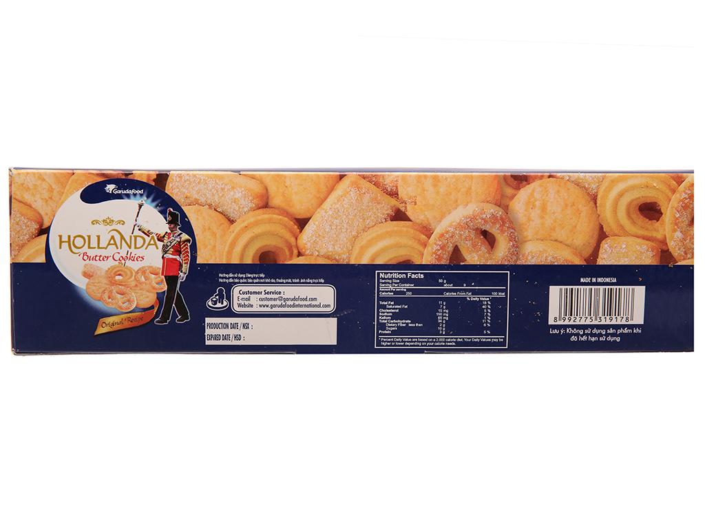 Bánh quy bơ GarudaFood Hollanda hộp 450g 3