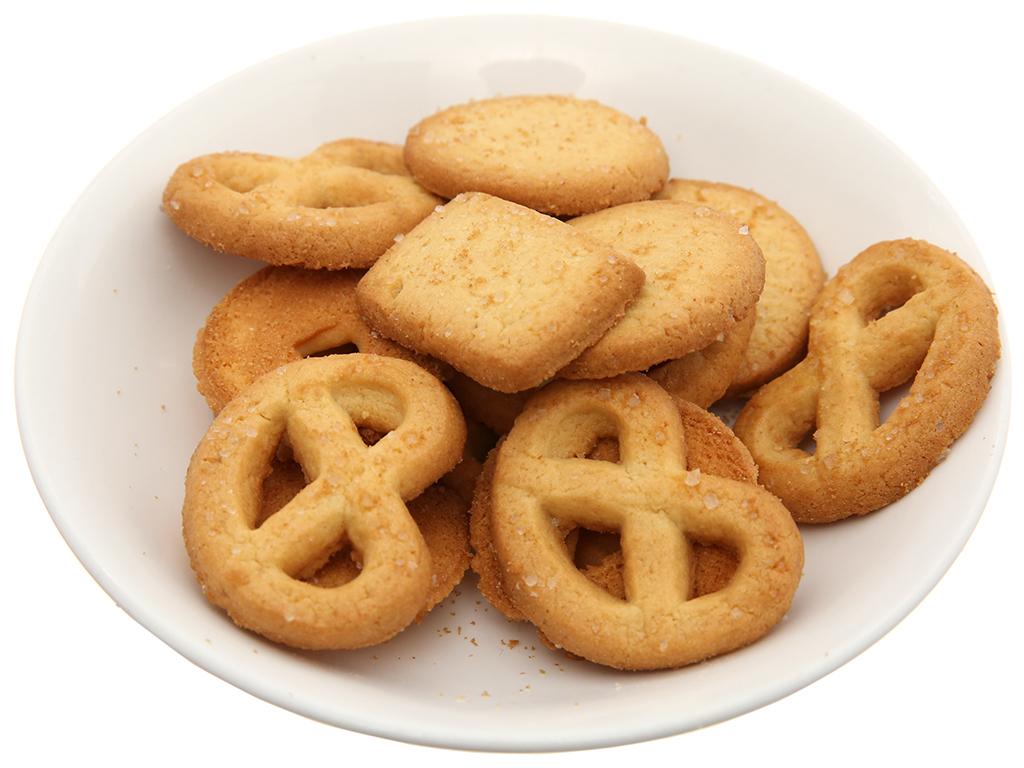 Bánh quy bơ GarudaFood Hollanda hộp 450g 4