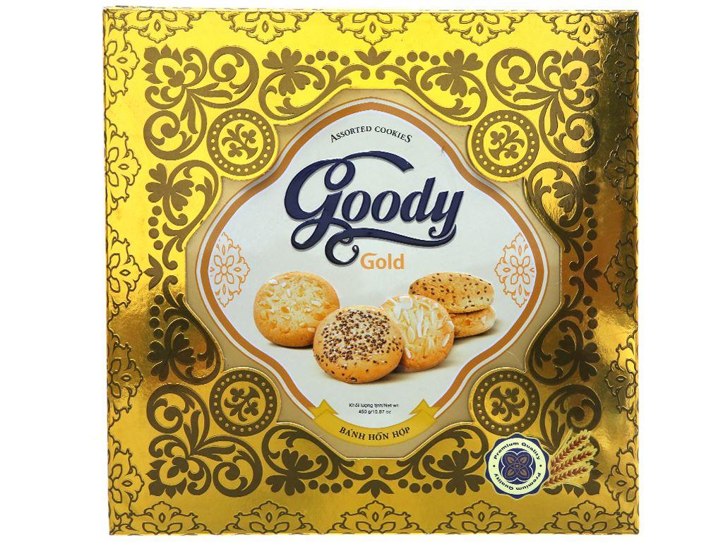 Bánh quy hỗn hợp Goody Gold hộp 450g 1