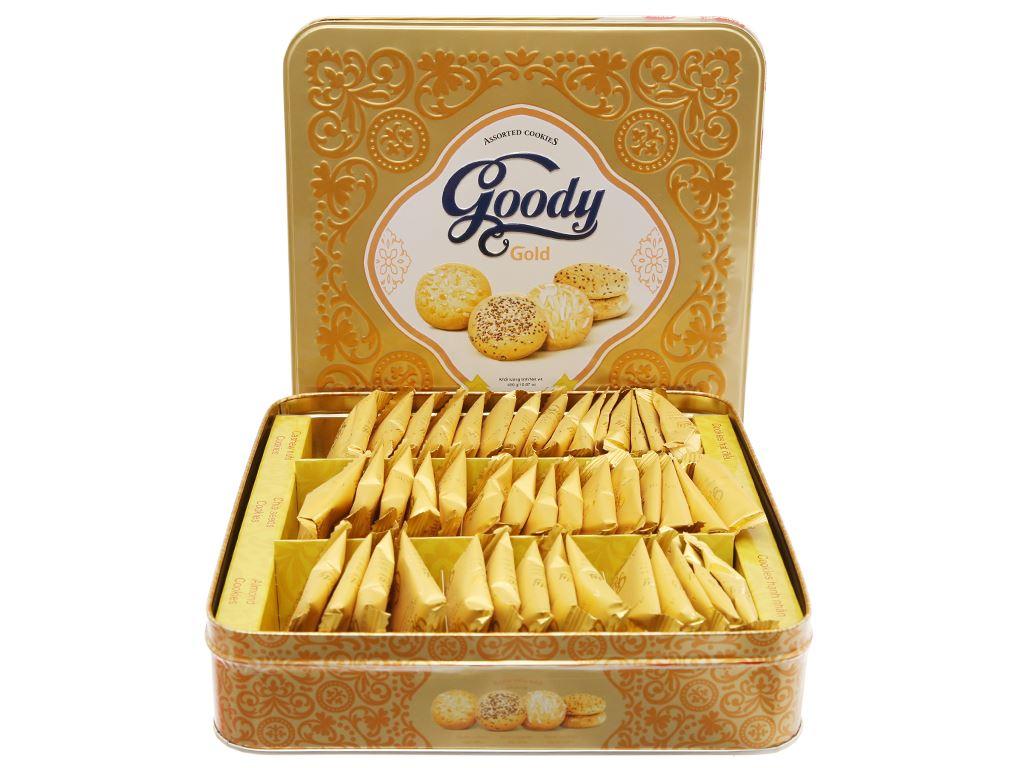 Bánh quy hỗn hợp Goody Gold hộp 450g 2