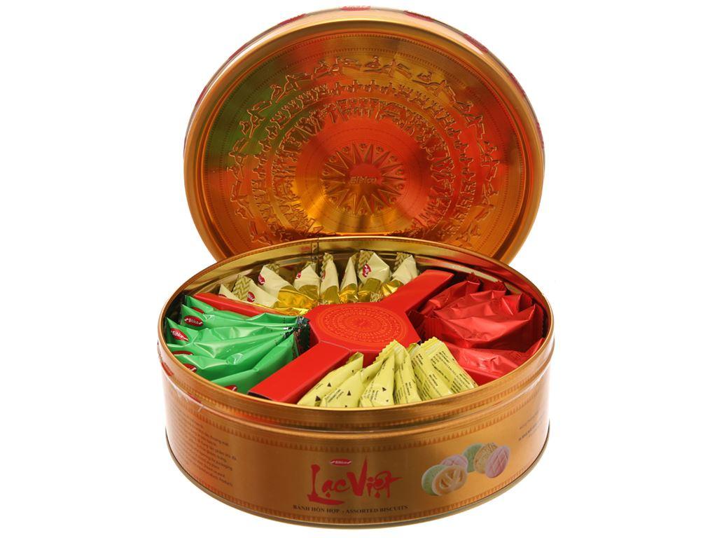 Bánh quy Bibica Lạc Việt 300g 5
