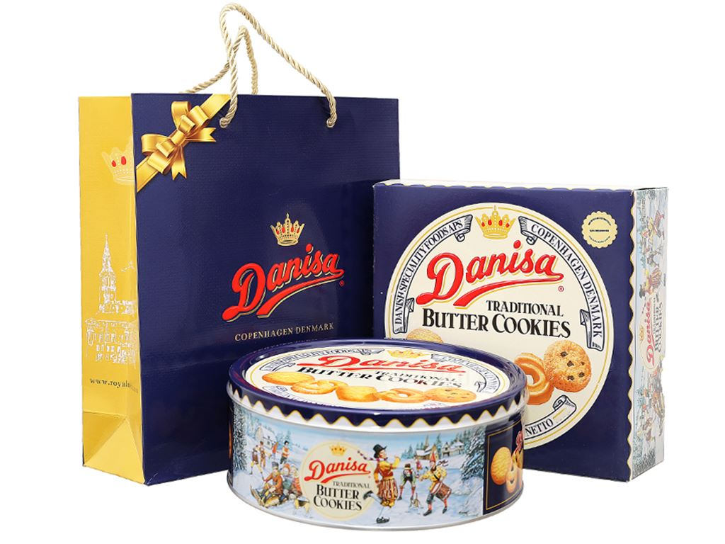 Bánh quy bơ Danisa hộp 908g 1