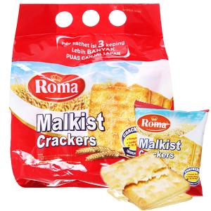 Bánh Malkist Crackers Roma gói 216g