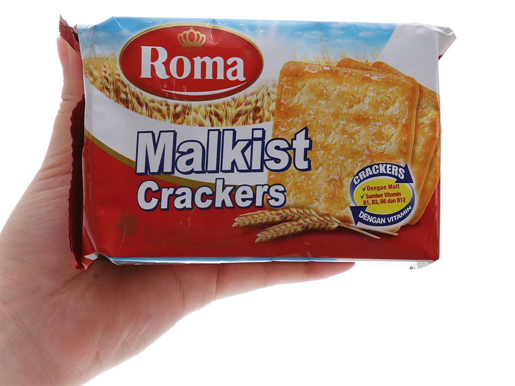 Bánh quy Roma Malkist Crackers gói 135g 5