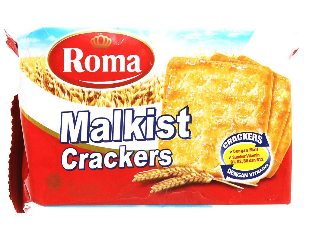 Bánh Malkist Crackers Roma gói 135g 1