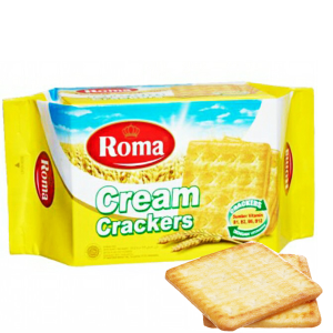 Bánh Cream Crackers Roma gói 135g