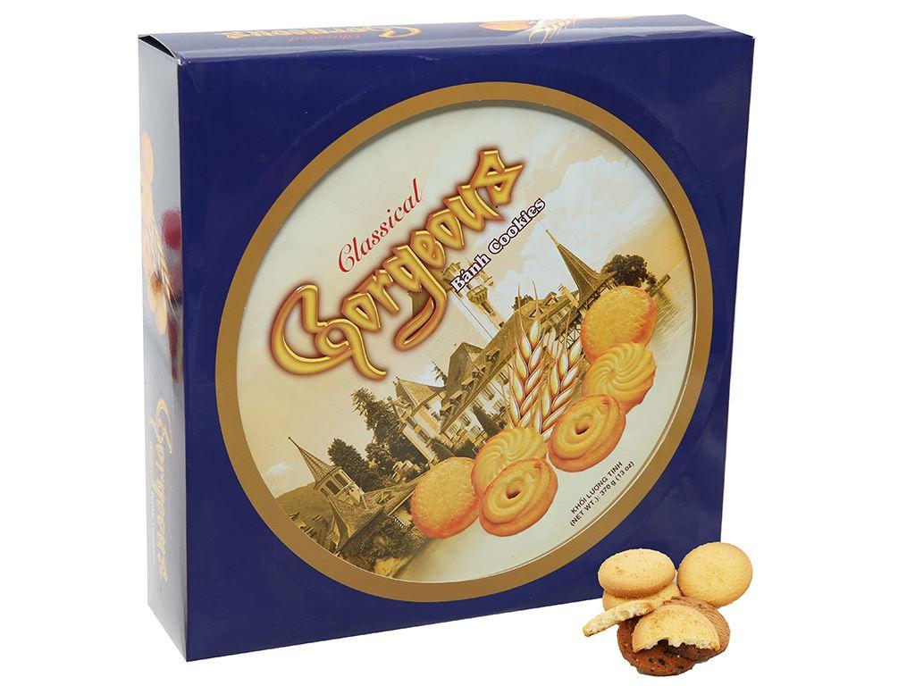 Bánh quy bơ Gorgeous Classical Cookies hộp 370g 1