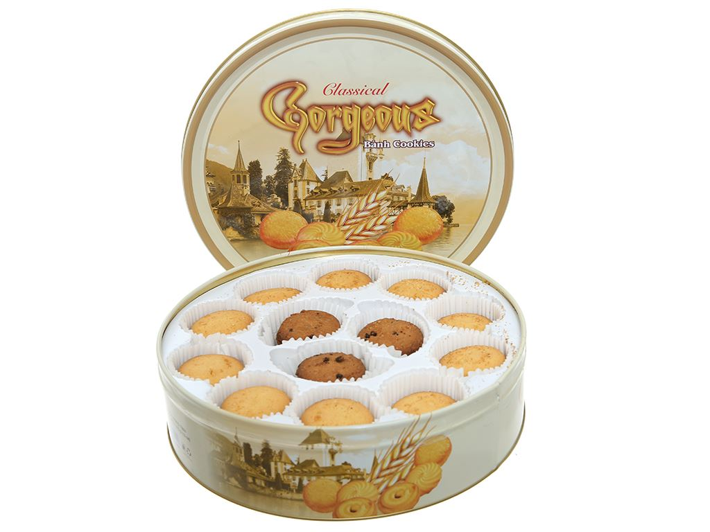 Bánh quy Classical Cookies Gorgeous hộp 370g 2