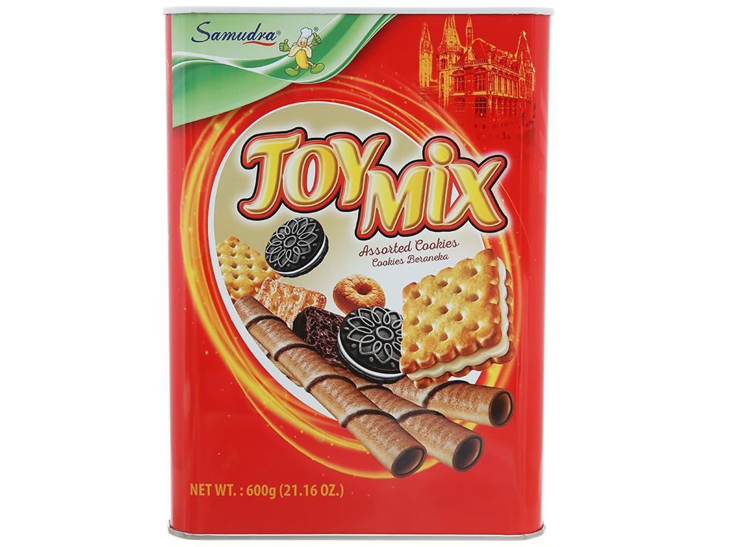 Bánh quy thập cẩm Samudra Joy Mix hộp 600g 1