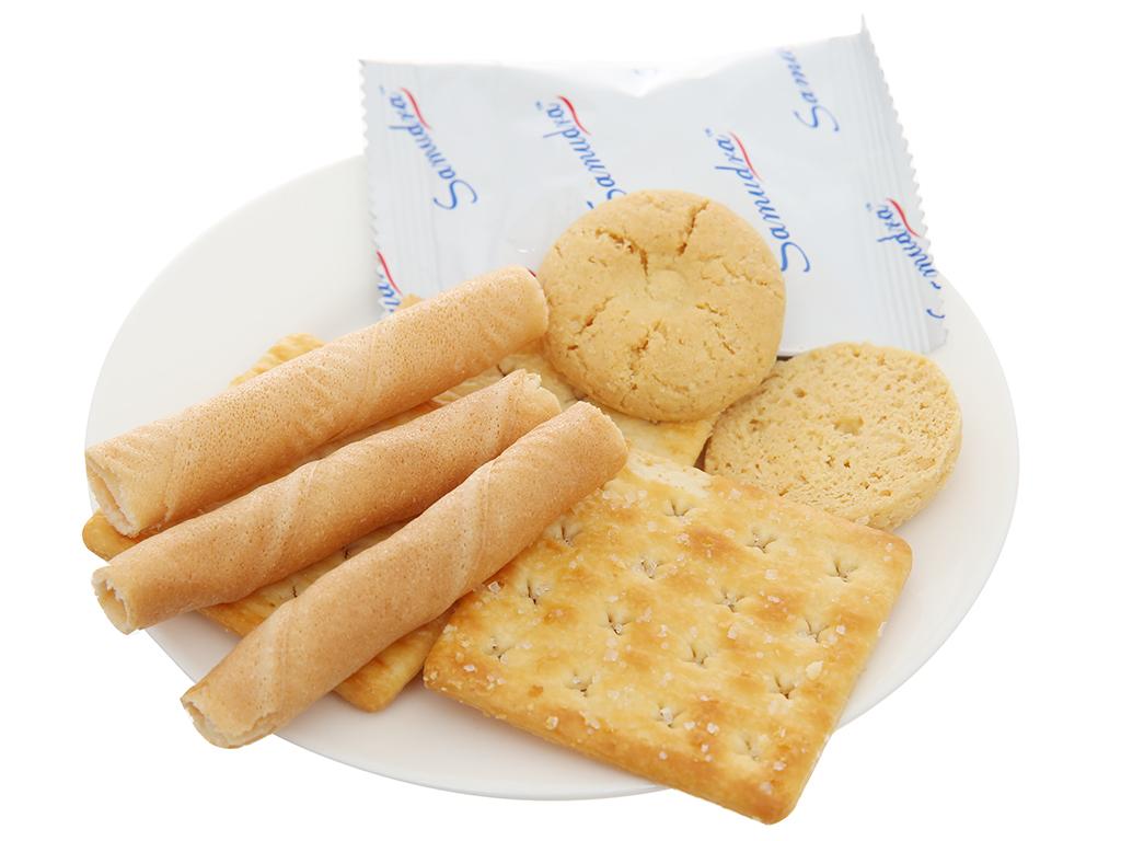 Bánh quy thập cẩm Samudra Joy Mix hộp 600g 3