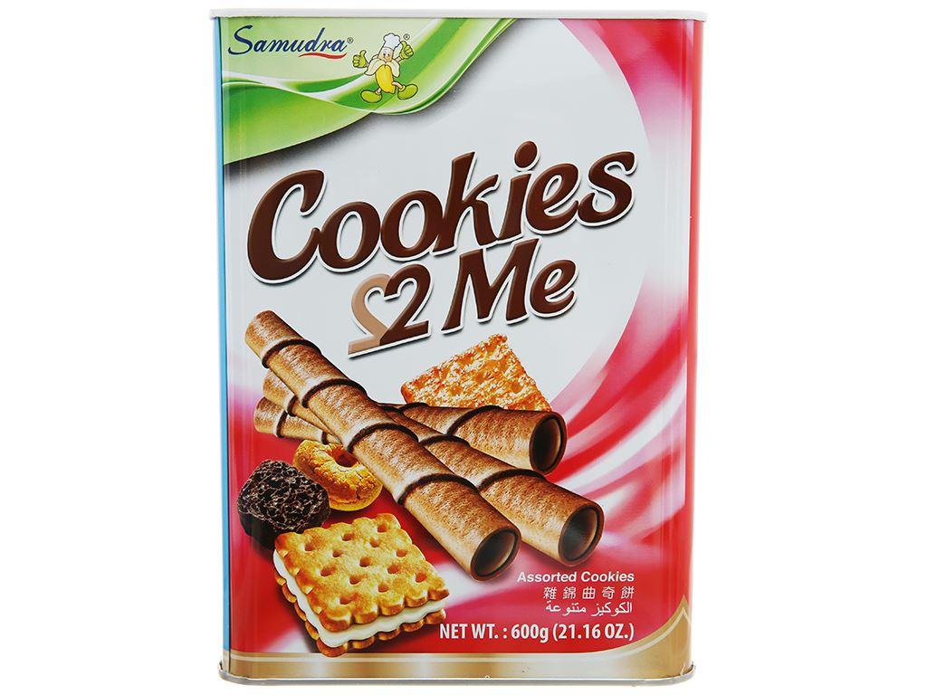Bánh quy tổng hợp Samudra 2 Me hộp 600g 1