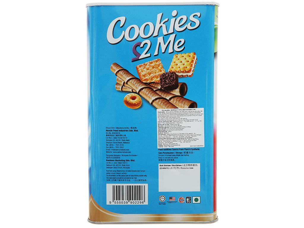 Bánh quy tổng hợp Samudra 2 Me hộp 600g 2
