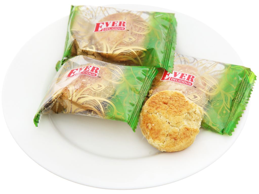Bánh quy Green Pea Cookies Jessy Ever Delicious hộp 360g 5