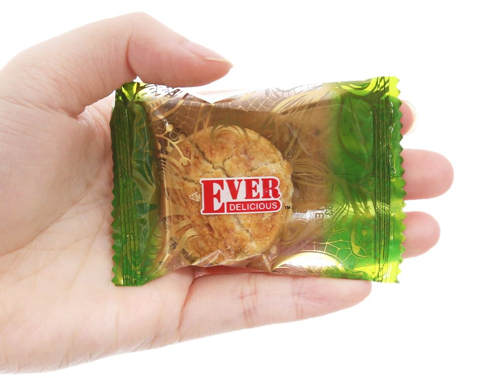 Bánh quy Green Pea Cookies Jessy Ever Delicious hộp 360g 4