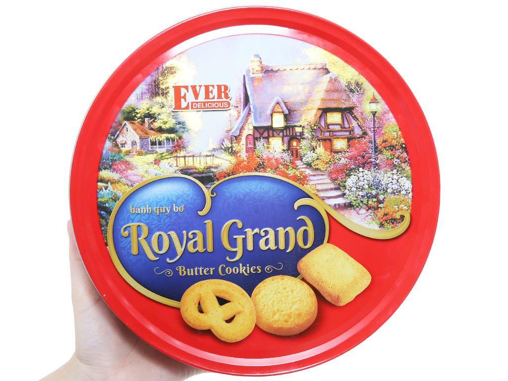 Bánh quy bơ Royal Grand Ever Delicious hộp đỏ 500g 2