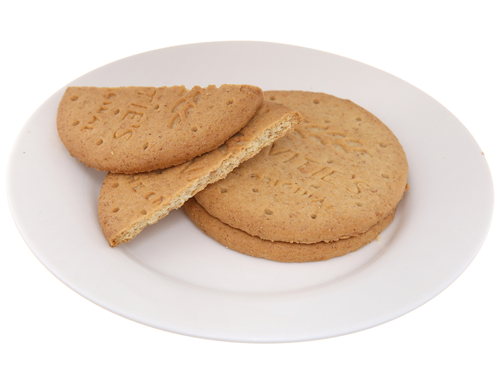 Bánh quy lúa mì nguyên cám truyền thống McVitie's Digestive hộp 250g 4