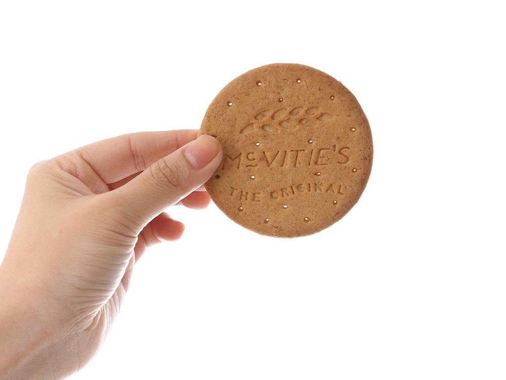 Bánh quy lúa mì nguyên cám truyền thống McVitie's Digestive hộp 250g 5