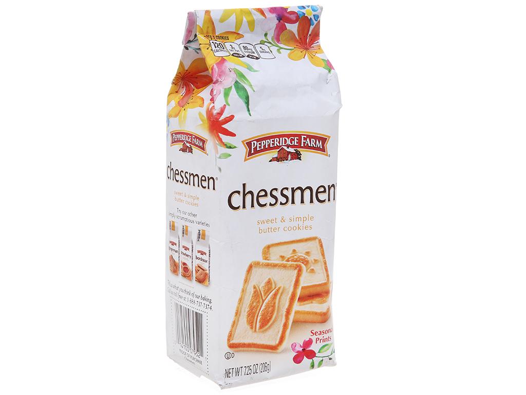 Bánh quy ngọt Pepperidge Farm chessmen bơ 206g 2