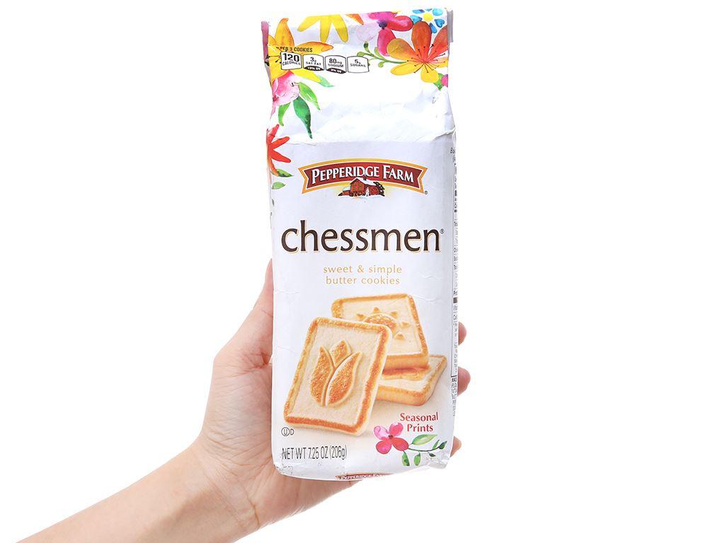 Bánh quy ngọt Pepperidge Farm chessmen bơ 206g 4