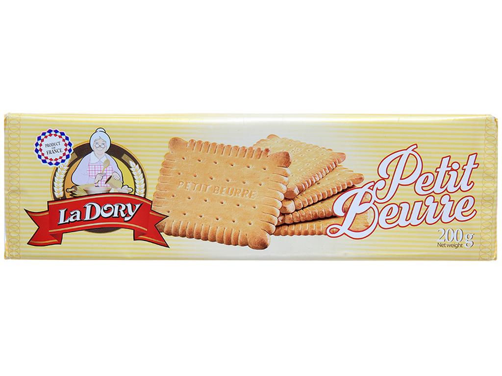 Bánh quy bơ La Dory Petit Beurre hộp 200g 1