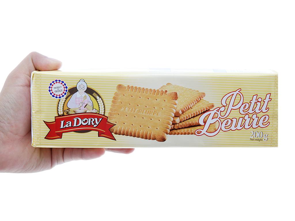 Bánh quy bơ La Dory Petit Beurre hộp 200g 4