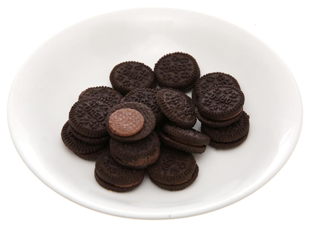 Bánh quy Socola nhân kem hương socola Oreo Mini 230g 4