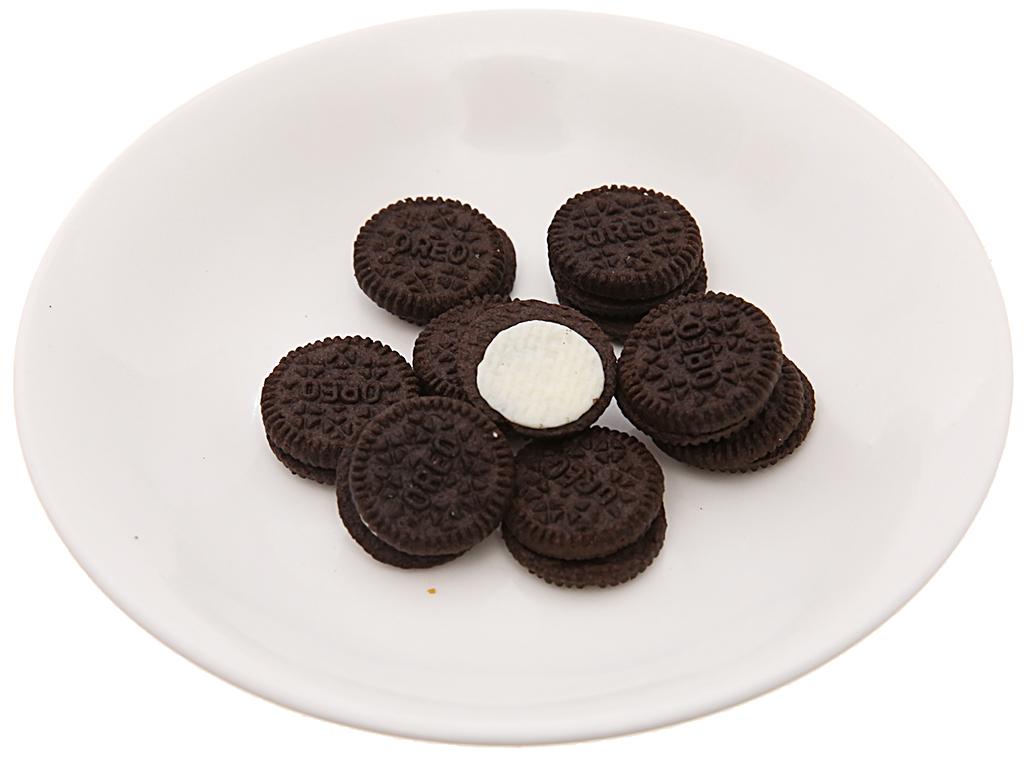 Bánh quy Socola nhân kem hương vani Oreo Mini 230g 5