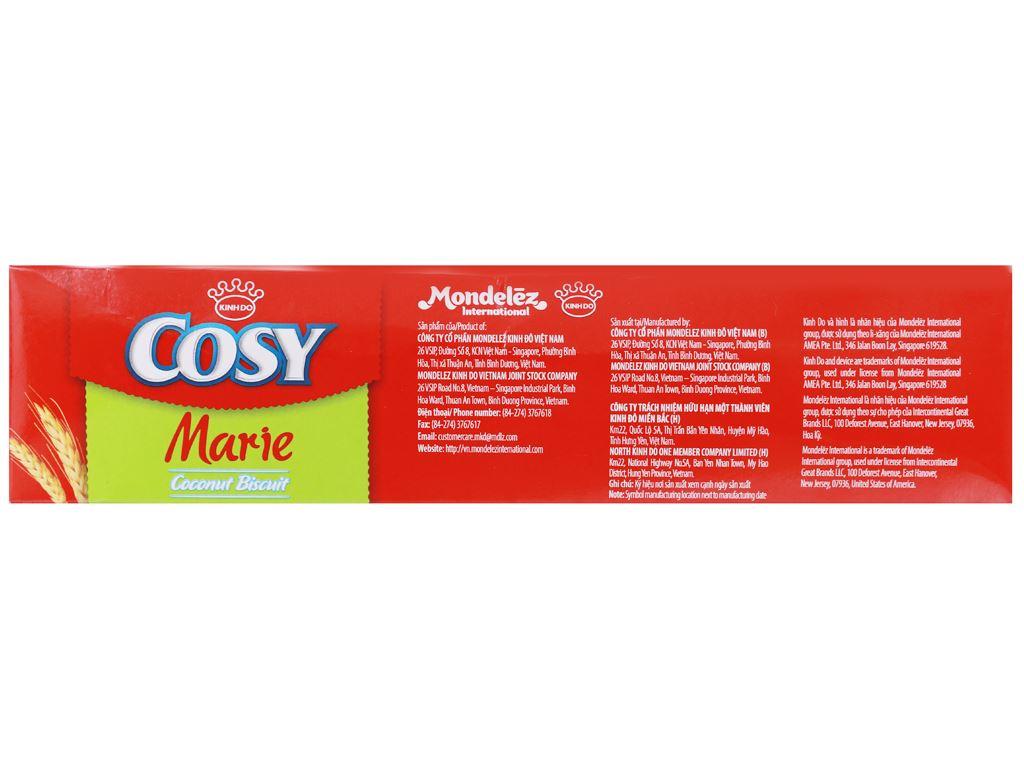 Bánh quy dừa Cosy Marie hộp 320g 8
