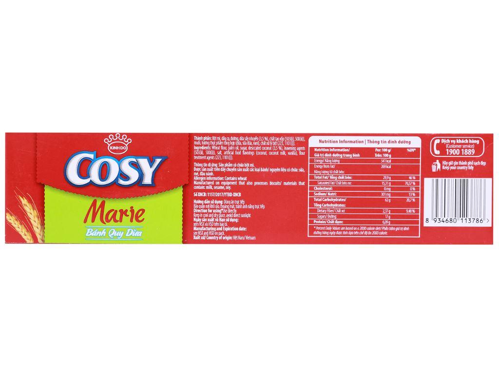 Bánh quy dừa Cosy Marie hộp 320g 9