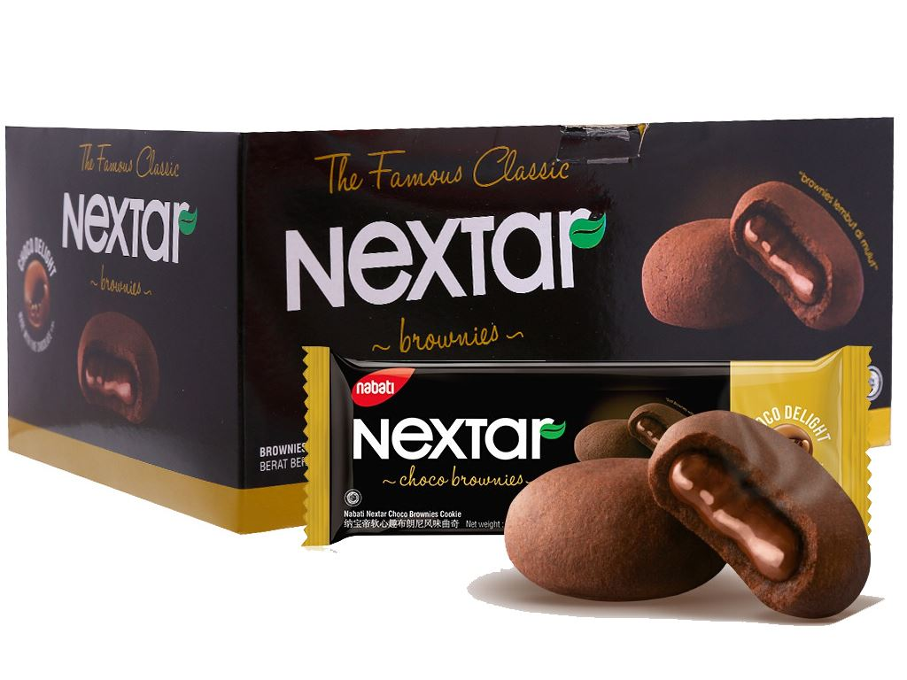 Bánh quy Socola Nextar Brownies 420g 3