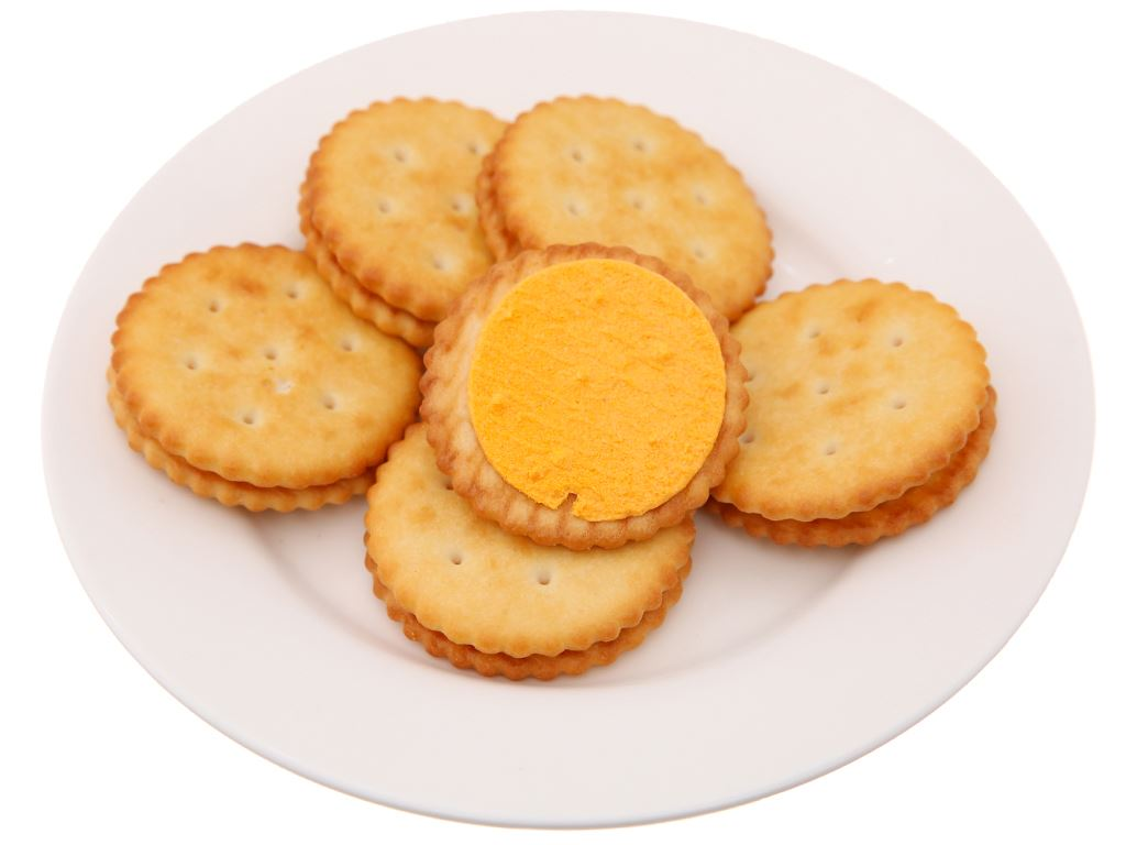 Bánh Cracker Phô Mai 55g 4