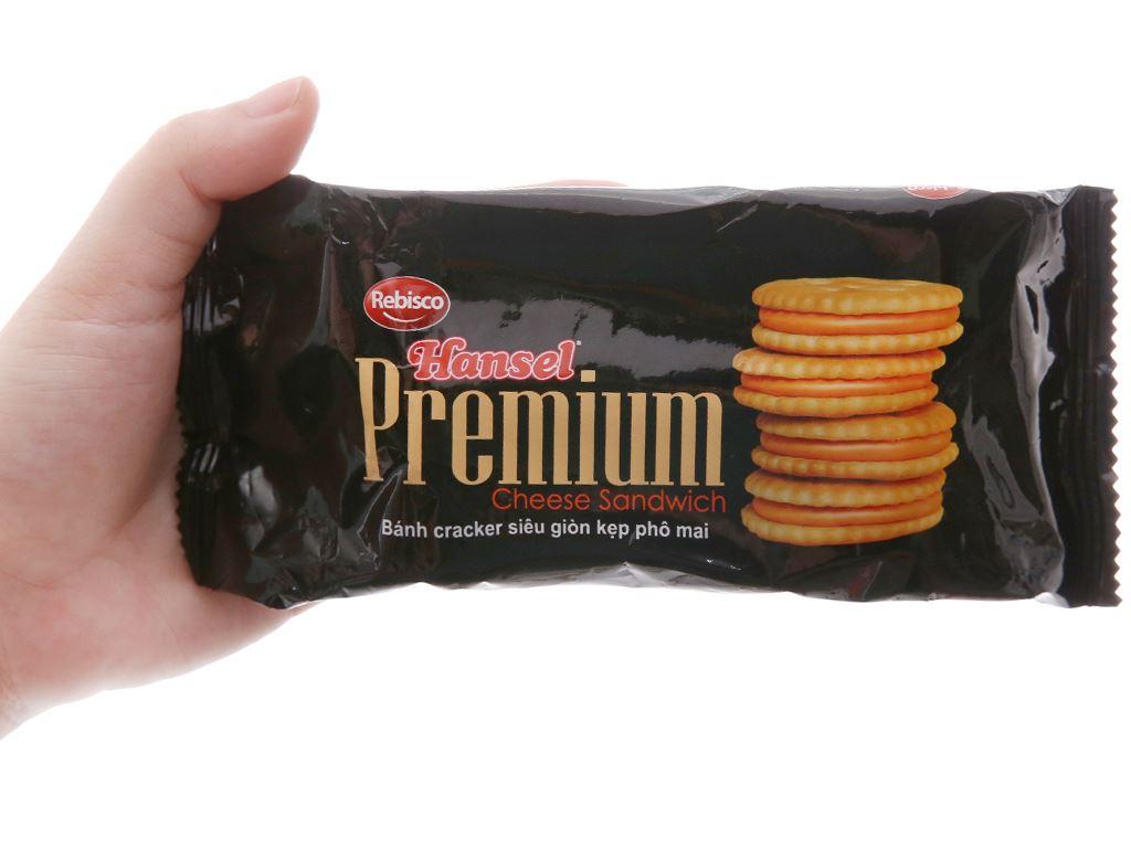 Bánh Cracker Phô Mai 55g 5