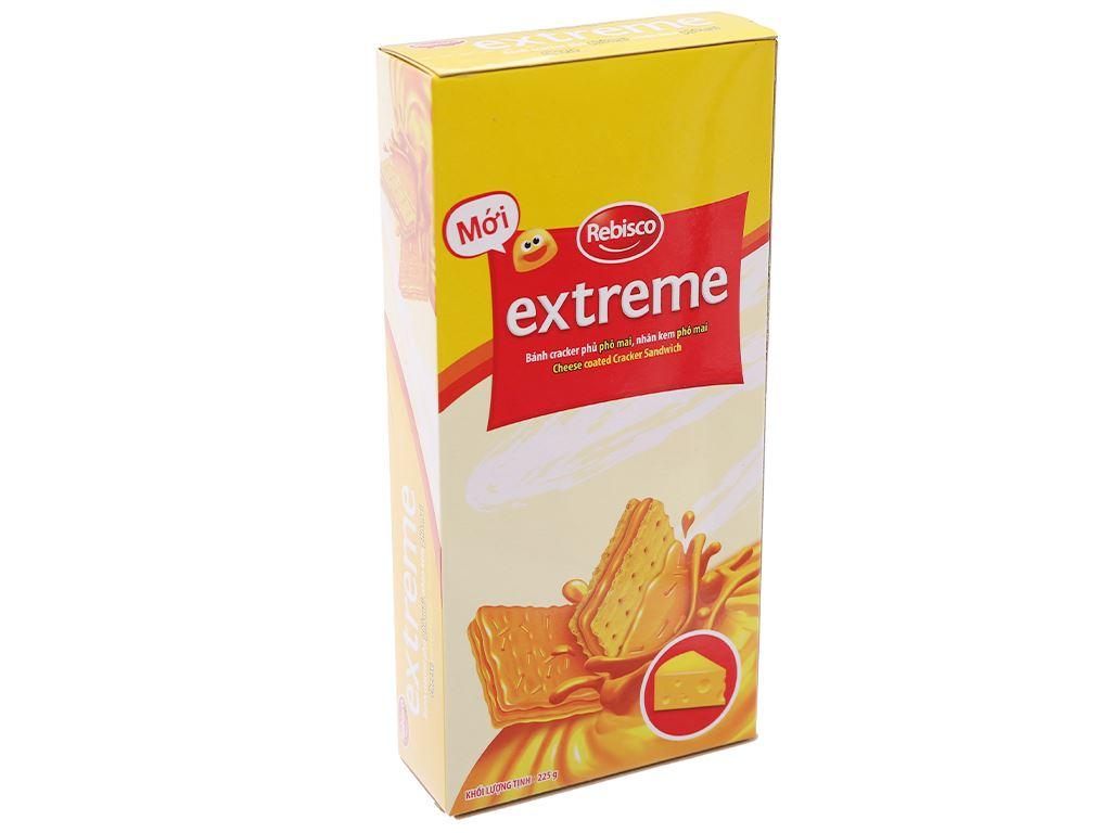 Bánh Cracker Extreme Phô Mai 225g 2