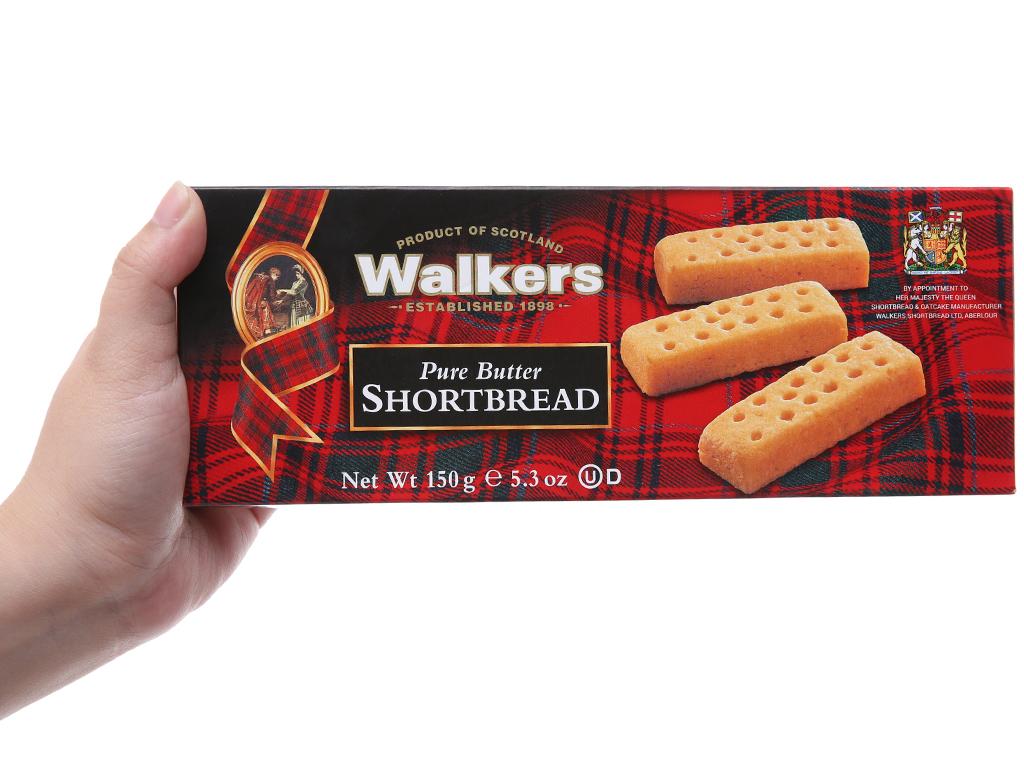 Bánh quy bơ Walkers hộp 150g 5