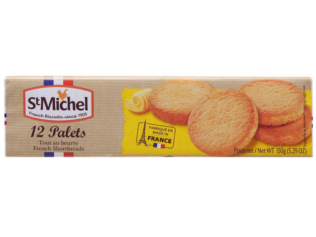 Bánh quy bơ StMichel Palets hộp 150g 2
