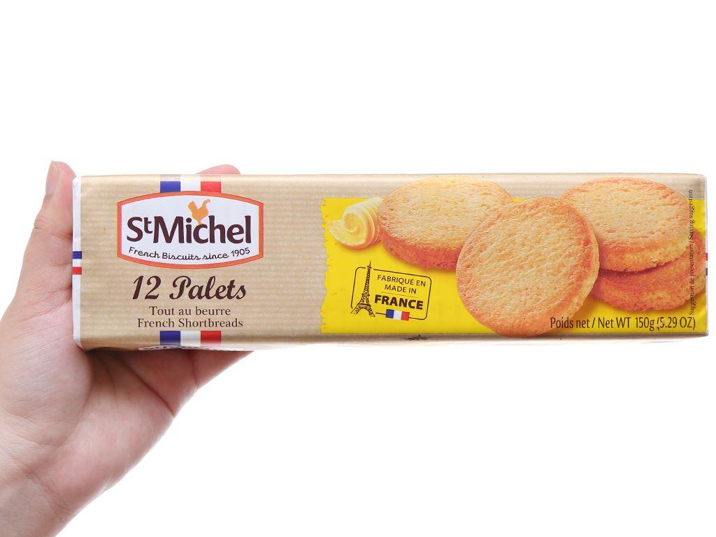 Bánh quy bơ StMichel Palets hộp 150g 5