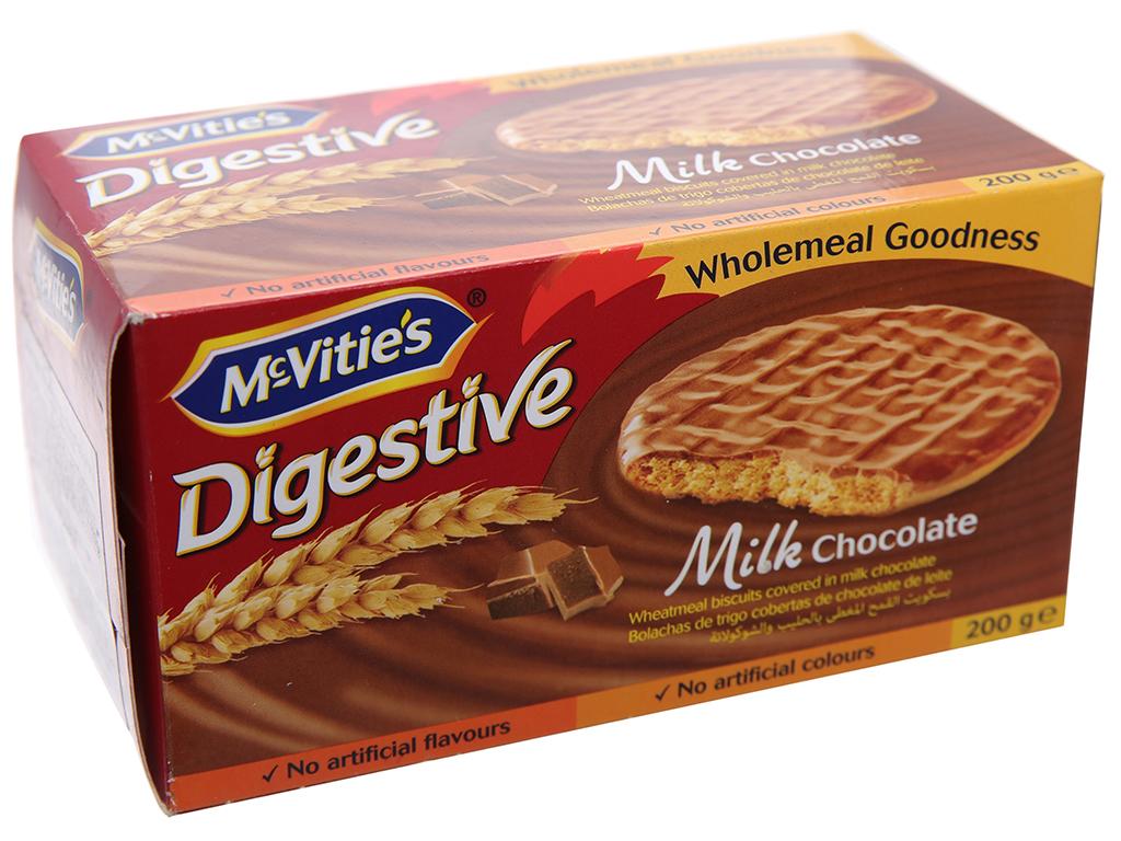 Bánh quy Socola sữa McVitie's Digestive 200g 1