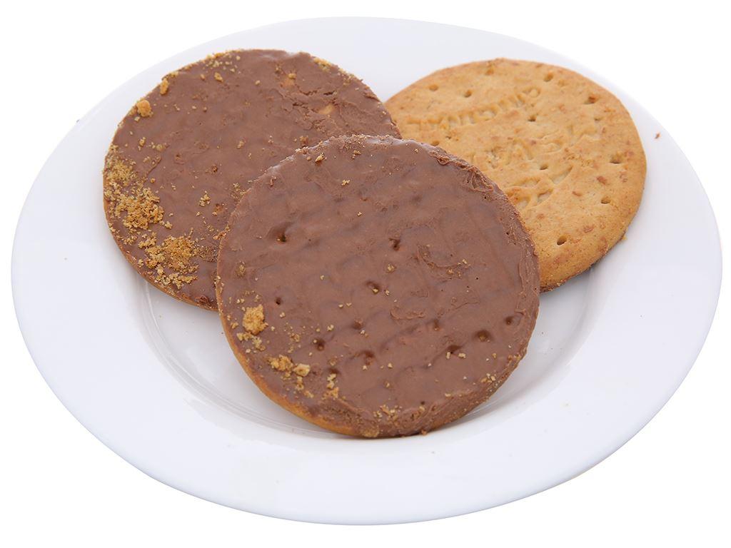 Bánh quy lúa mì nguyên cám socola sữa McVitie's Digestive hộp 200g 5