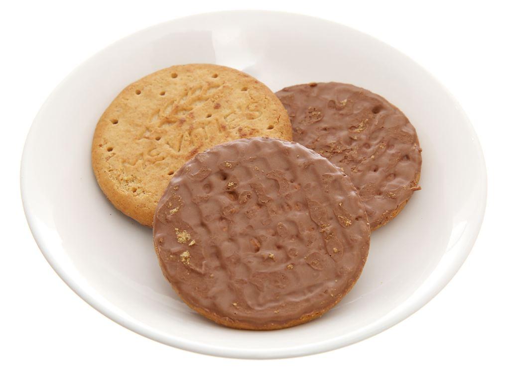 Bánh quy lúa mì nguyên cám socola đen McVitie's Digestive hộp 200g 6