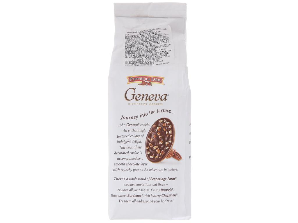 Bánh quy socola và hạt bồ đào Pepperidge Farm Geneva gói 156g 3