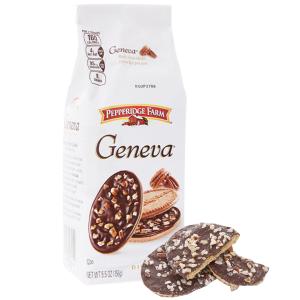 Bánh quy socola và hạt bồ đào Pepperidge Farm Geneva gói 156g