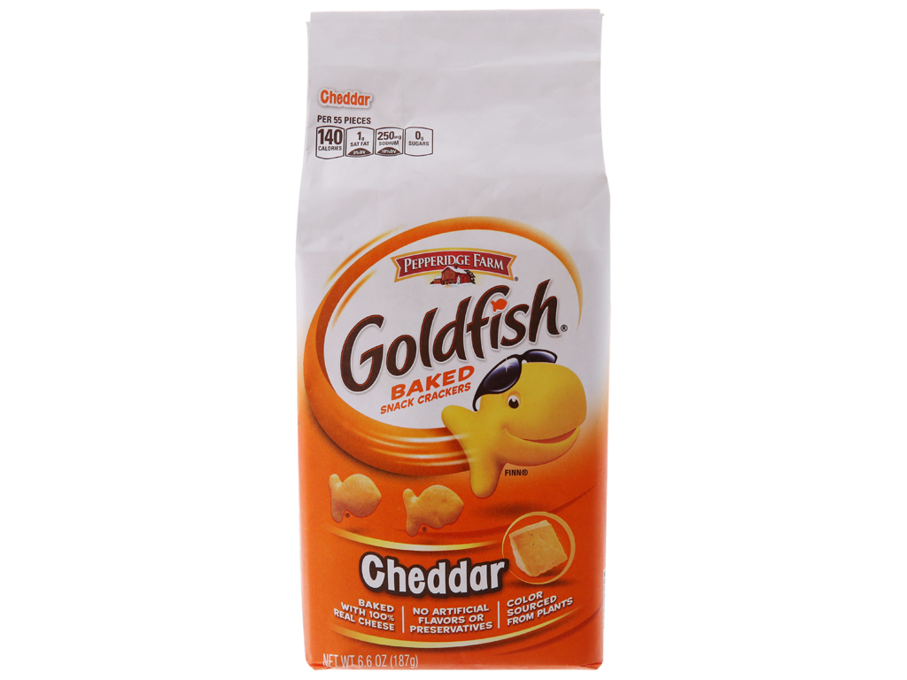 Bánh cá Pepperidge Farm Goldfish 187g 2