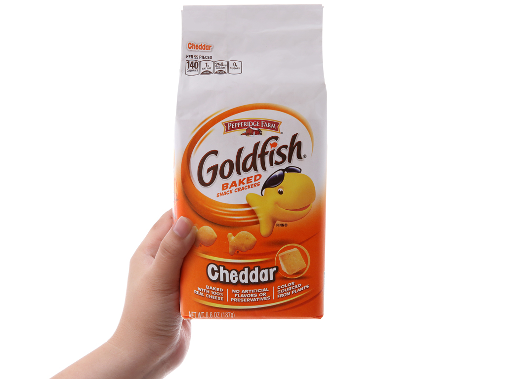 Bánh cá Pepperidge Farm Goldfish 187g 5