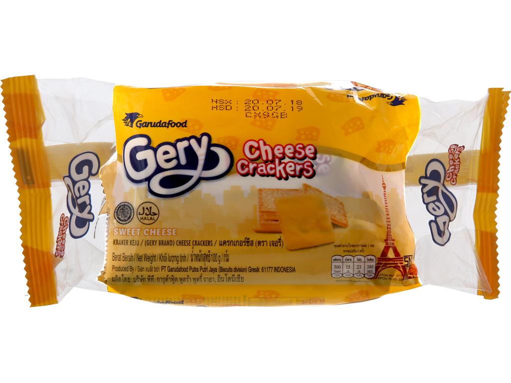 Bánh quy ngọt Gery phô mai 100g 2