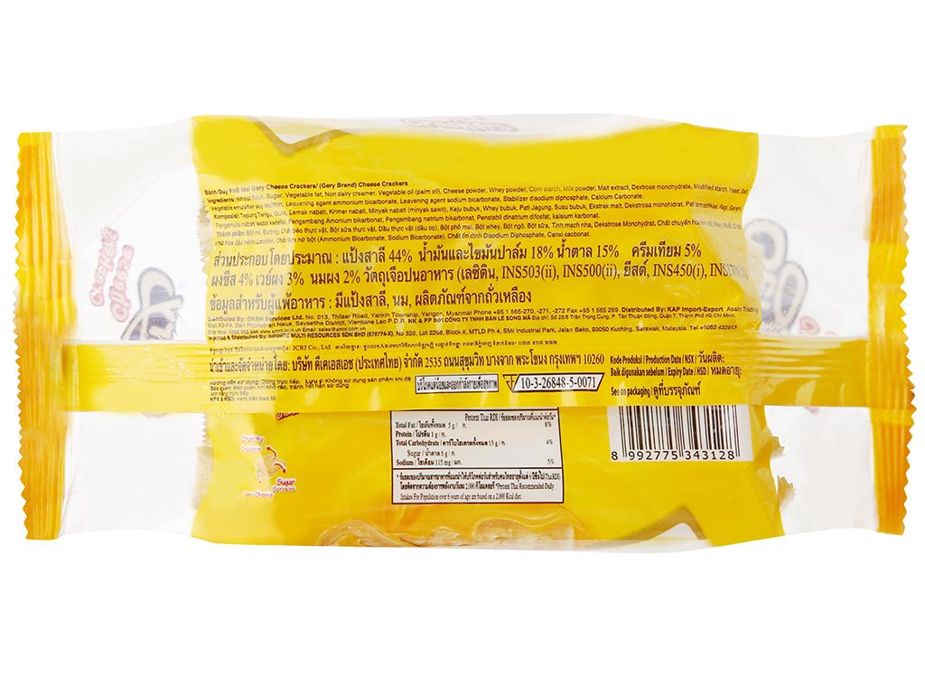 Bánh cracker phô mai Gery gói 100g 7