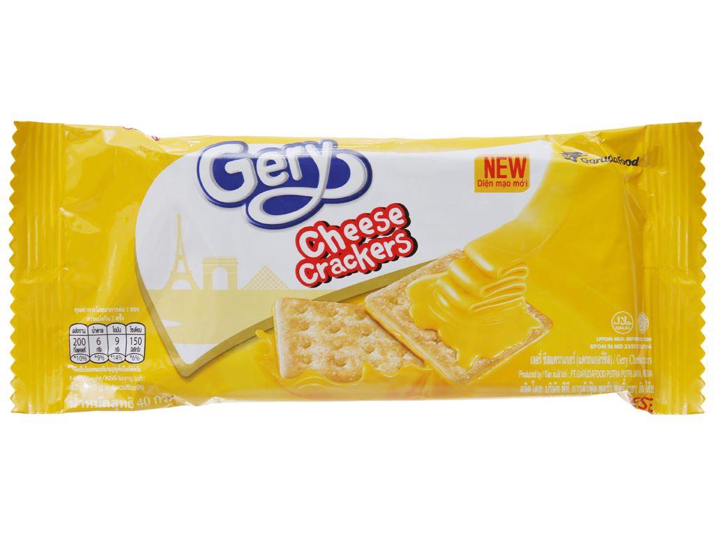 Bánh quy ngọt Gery phô mai 40g 2