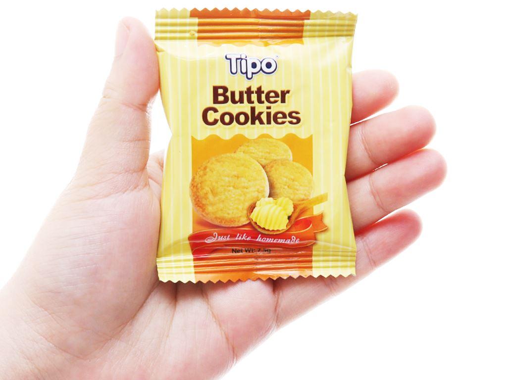 Bánh quy bơ Tipo hộp 75g 4
