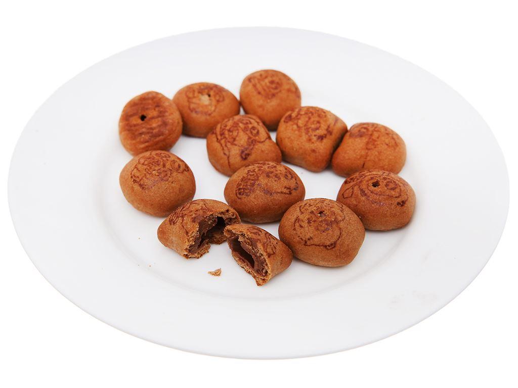 Bánh gấu Meiji Hello Panda Double Chocolate hộp 50g 4