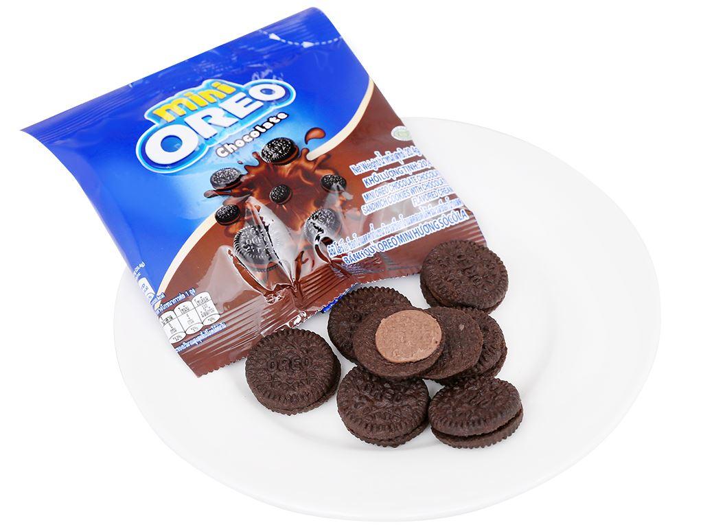 Bánh quy Oreo Mini kem socola gói 20.4g 12